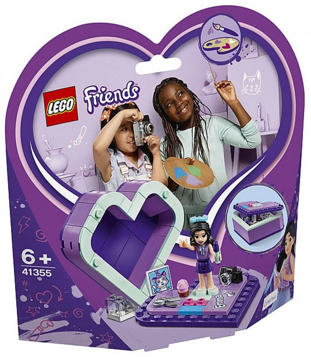 Nouveau LEGO Friends 41355 Emma's Heart Box 2019