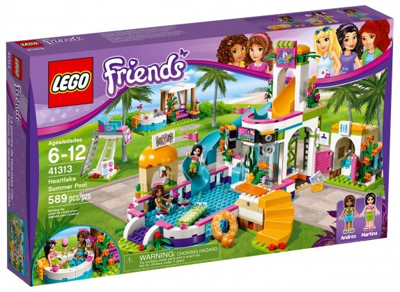 Nouveau LEGO Friends 41313 Heartlake Summer Pool
