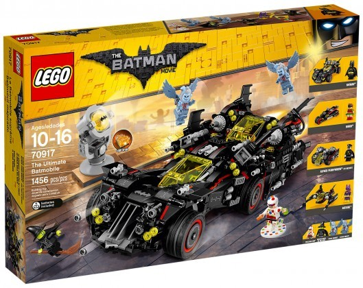 Nouveau LEGO Batman Movie 70917 La Batmobile suprême Juin 2017