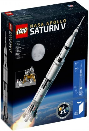 Nouveau LEGO Ideas 21309 Nasa Apollo Saturn V Juin 2017