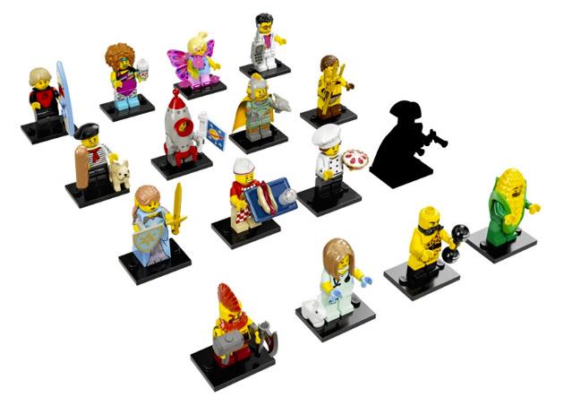 Nouveau LEGO Minifigures 71018 Série 17