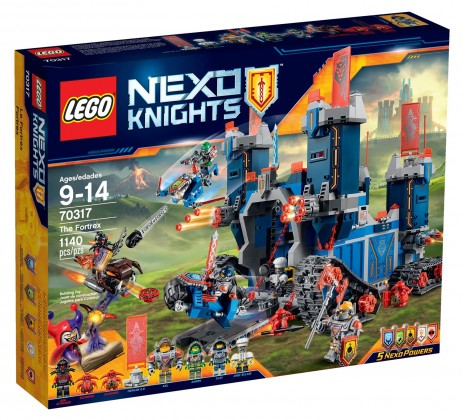 LEGO Nexo Knights 70317 - Le Fortrex