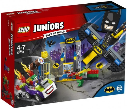 Nouveau LEGO Juniors 10753 The Joker Batcave Attack 2018