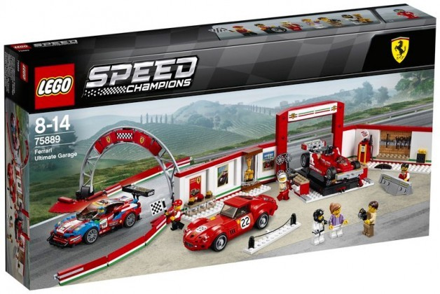 Nouveau LEGO Speed Champions 75889 Ferrari Ultimate Garage 2018