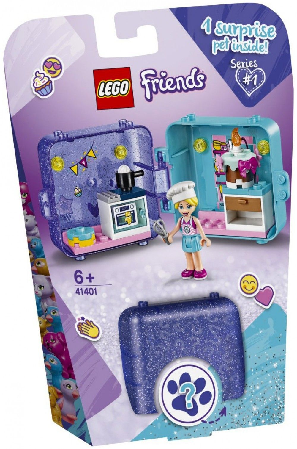 Nouveau LEGO Friends 41401 Stephanie's Play Cube // Janvier 2020