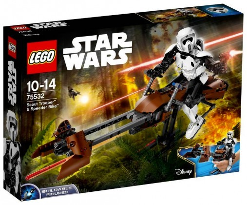 Nouveau LEGO Star Wars 75532 Scout Trooper & Speeder Bike Juin 2017
