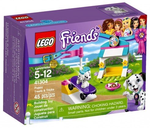 Nouveau LEGO Friends 41304 Puppy Treats & Tricks