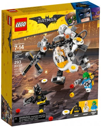 Nouveau LEGO The Batman Movie 70920 L'attaque de Crâne d'Oeuf 2018