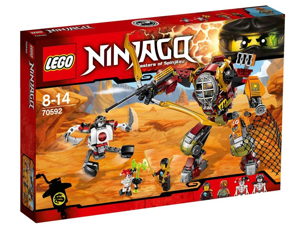 LEGO Ninjago 70592 - Salvage M.E.C. - Photo 1