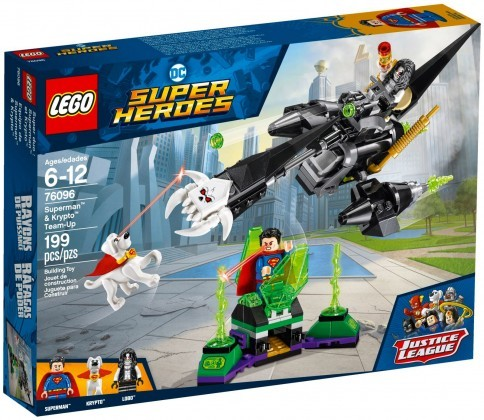 Nouveau LEGO DC Comics 76096 L'union de Superman et Krypto 2018