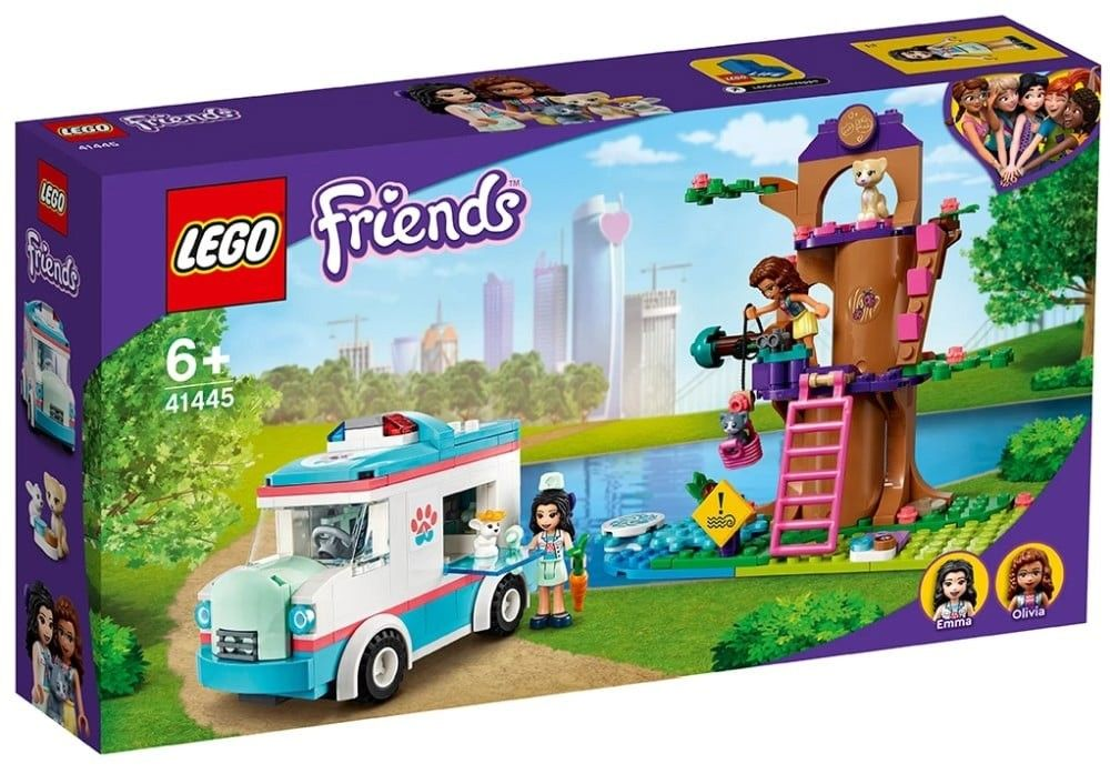 Nouveau LEGO Friends 41445 Vet Clinic Ambulance // Mars 2021