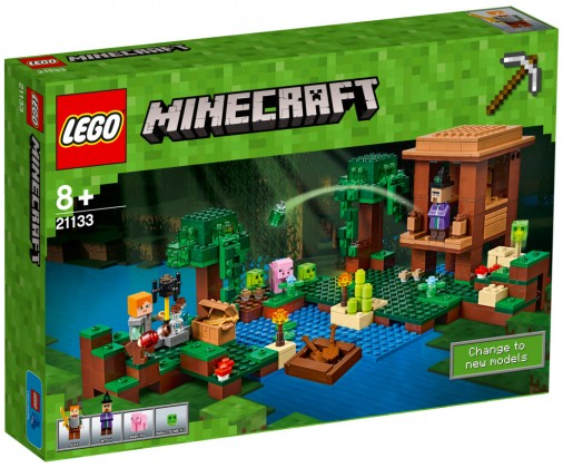 Nouveau LEGO Minecraft 21133 Witch House 2017