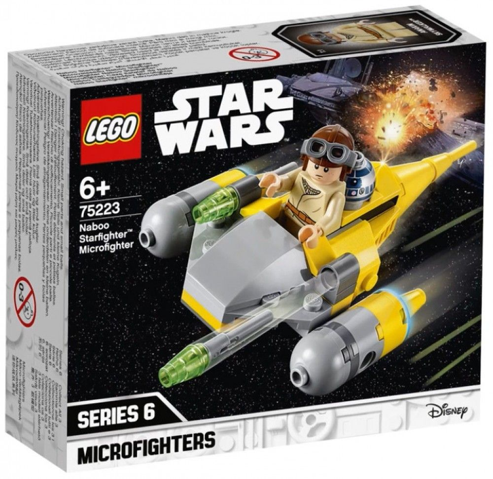 Nouveau LEGO Star Wars 75223 Naboo Starfighter Microfighter 2019