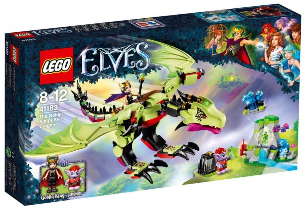 Nouveau LEGO Elves 41183 The Goblin King's Evil Dragon 2017