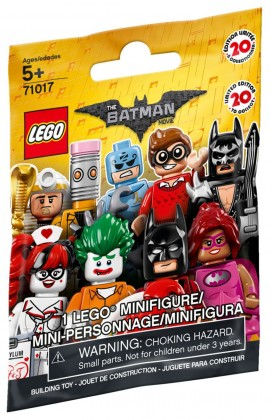Nouveau LEGO Minifigures 71017 The LEGO Batman Movie 2017