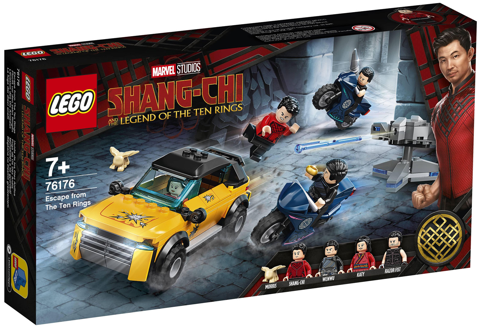 Nouveau LEGO Marvel Shang-Chi 76176 Escape from the Ten Rings