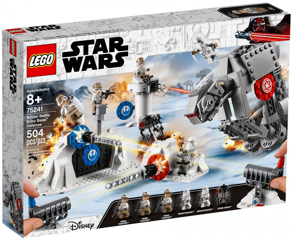 Nouveau LEGO Star Wars 75241 Action Battle La défense de la base Echo