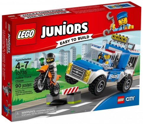 Nouveau LEGO Juniors 10375 L'arrestation du bandit