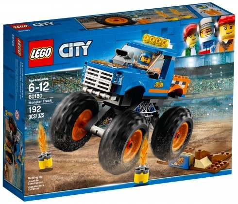 Nouveau LEGO City 60180 Monster Truck 2018