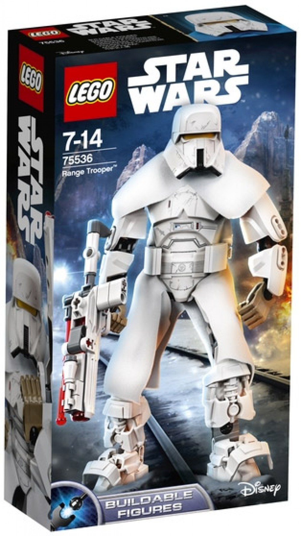 Nouveau LEGO Star Wars 75536 Range Trooper (Buildable Figures) 2018