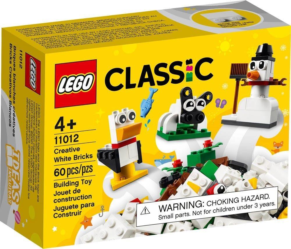 LEGO Classic 11012 creative white brick // mars 2021