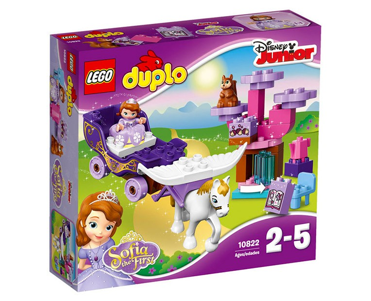 LEGO Duplo Sofia the First Magical Carriage - 10822 - Photo 1