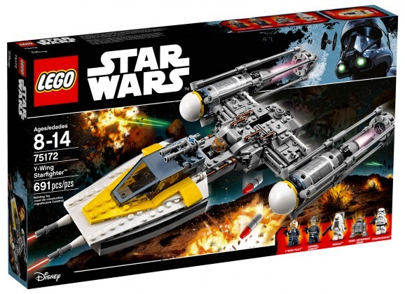 Nouveau LEGO Star Wars 75172 Y-wing Starfighter