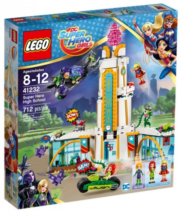 Nouveau LEGO DC Super Hero Girls 41232 Super Hero High School 2017