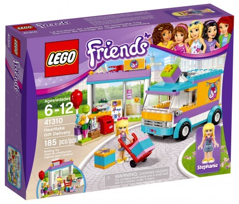 Nouveau LEGO Friends 41310 Heartlake Gift Delivery