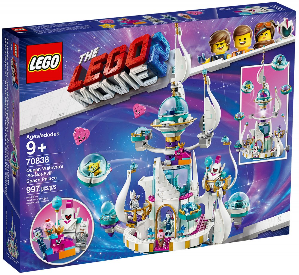 Nouveau LEGO The LEGO Movie 2 70838 Le palais spatial de la Reine aux mille visages