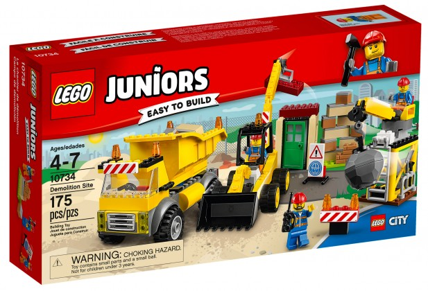 Nouveau LEGO Juniors 10734 Demolition Site 2017