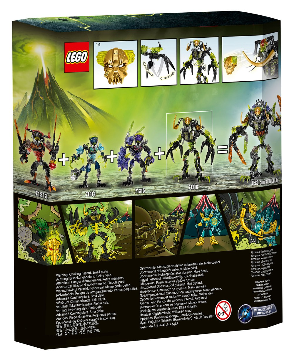 LEGO Bionicle 71316 - Umarak le destructeur - photo 2