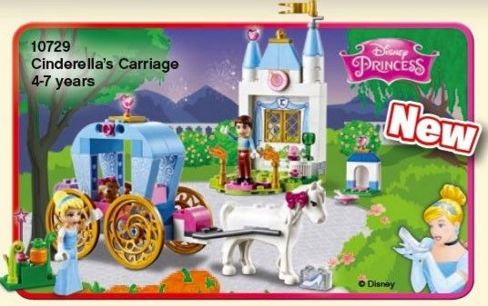 LEGO Princesses Disney 10729