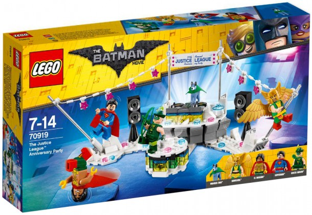 Nouveau LEGO The Batman Movie 70919 The Justice League Anniversary Party 2018