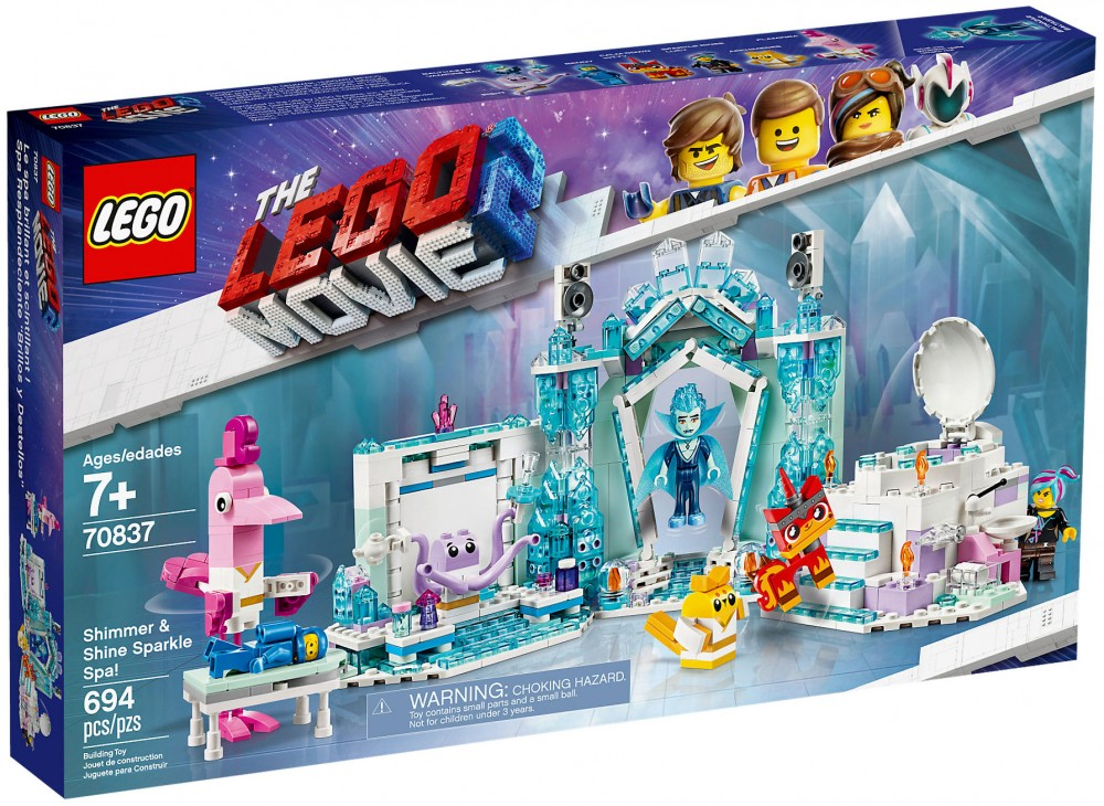 Nouveau LEGO The LEGO Movie 2 70837 Le spa brillant et scintillant