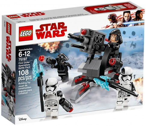 Nouveau LEGO Star Wars 75197 Battle Pack experts du Premier Ordre 2018