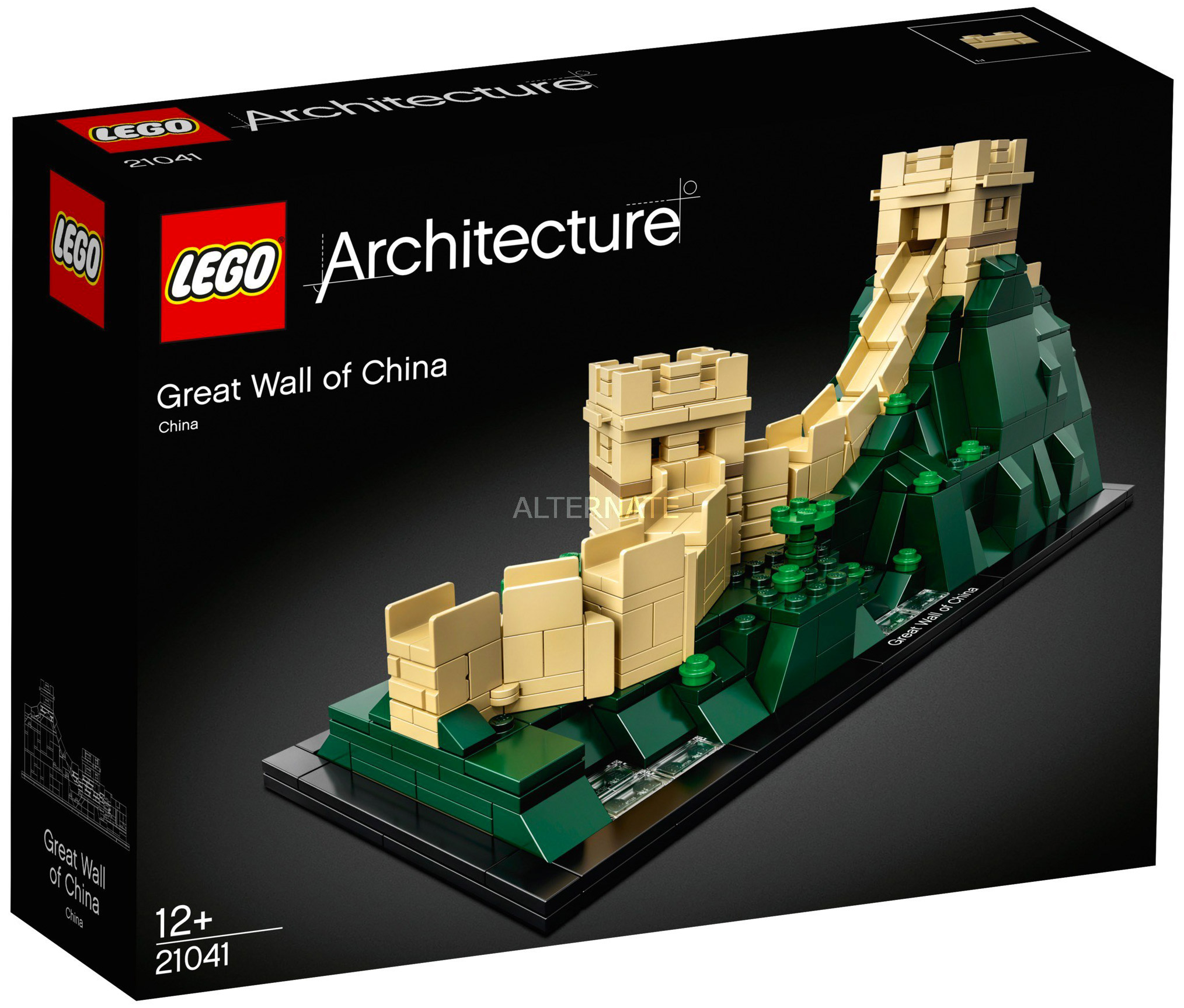 Nouveau LEGO Architecture 21041 Great Wall of China Avril 2018