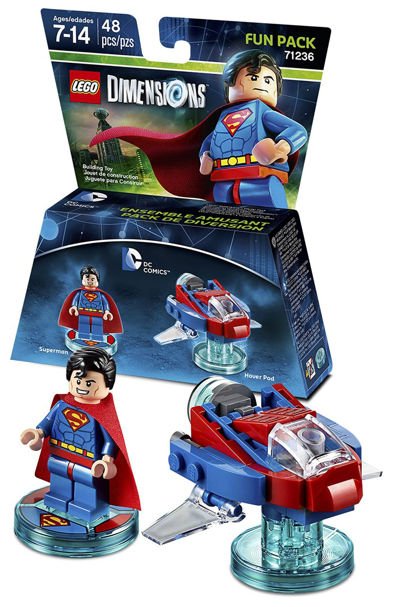 LEGO Dimensions Pack Héros Superman 71236