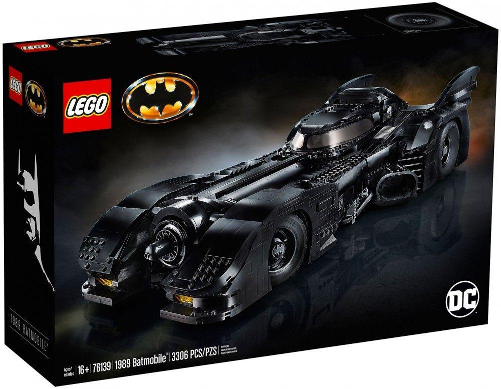 Nouveau LEGO DC Comics 76139 : Batmobile de 1989