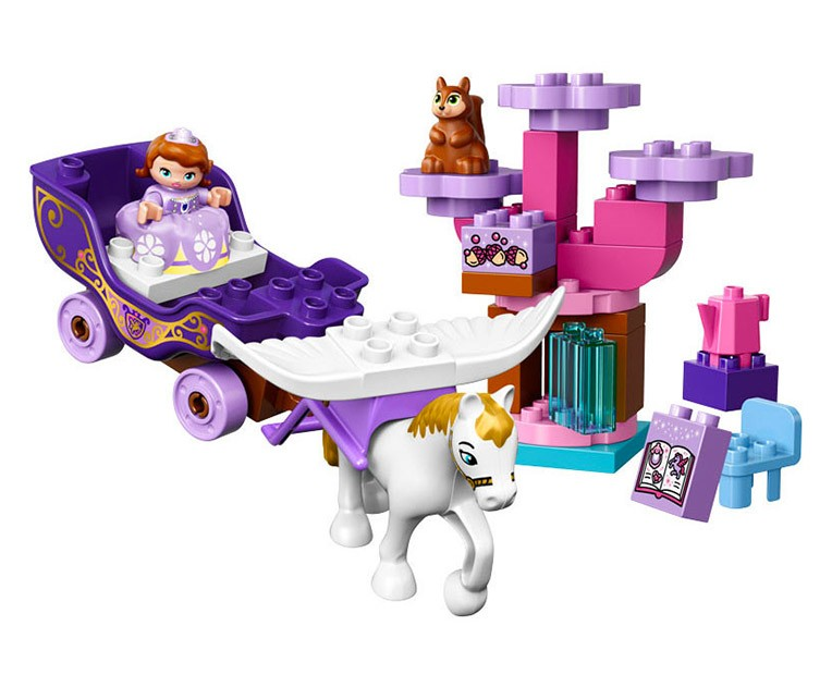 LEGO Duplo Sofia the First Magical Carriage - 10822 - Photo 2