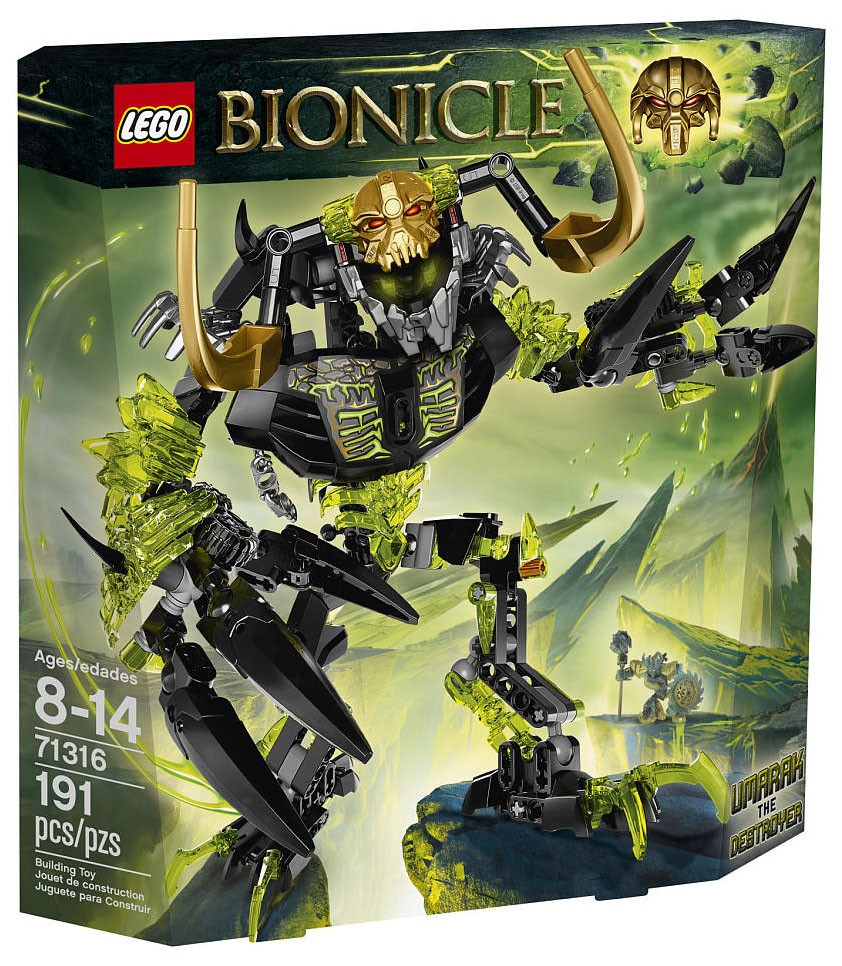 LEGO Bionicle 71316 - Umarak le destructeur - photo 1