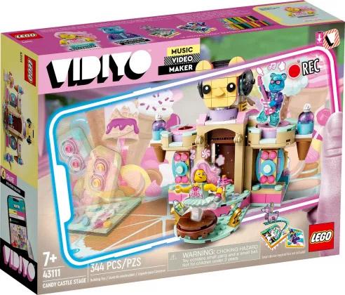 Nouveau LEGO VIDIYO 43111 Candy Castle Stage // Juin 2021