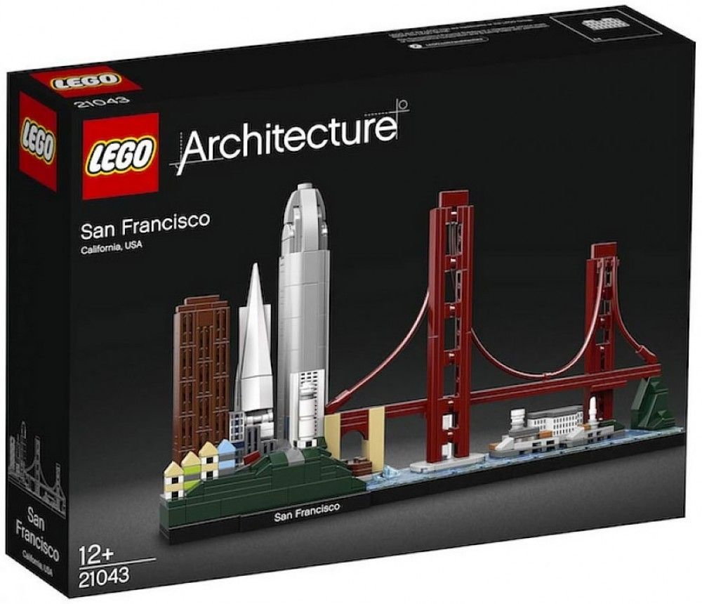 Nouveau LEGO Architecture 21043 San Francisco, California, USA 2019