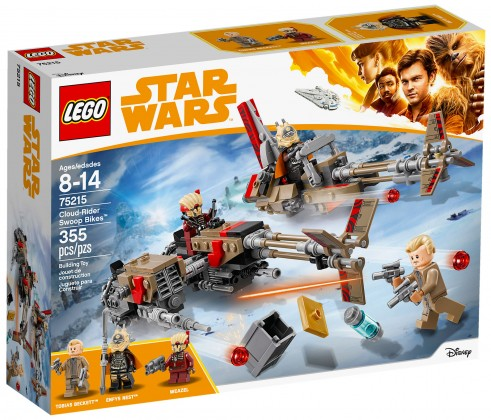 Nouveau LEGO Star Wars 75215 Cloud-Rider Swoop Bikes 2018