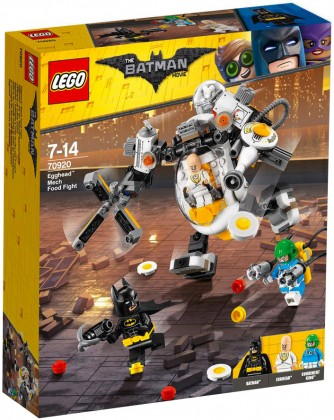 Nouveau LEGO The Batman Movie 70920 The Egghead Mech Food Fight 2018