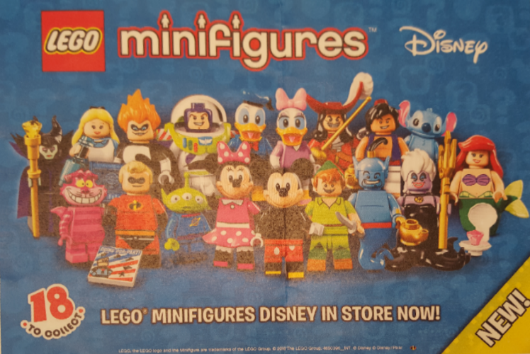 LEGO Minifigures Disney - Packaging