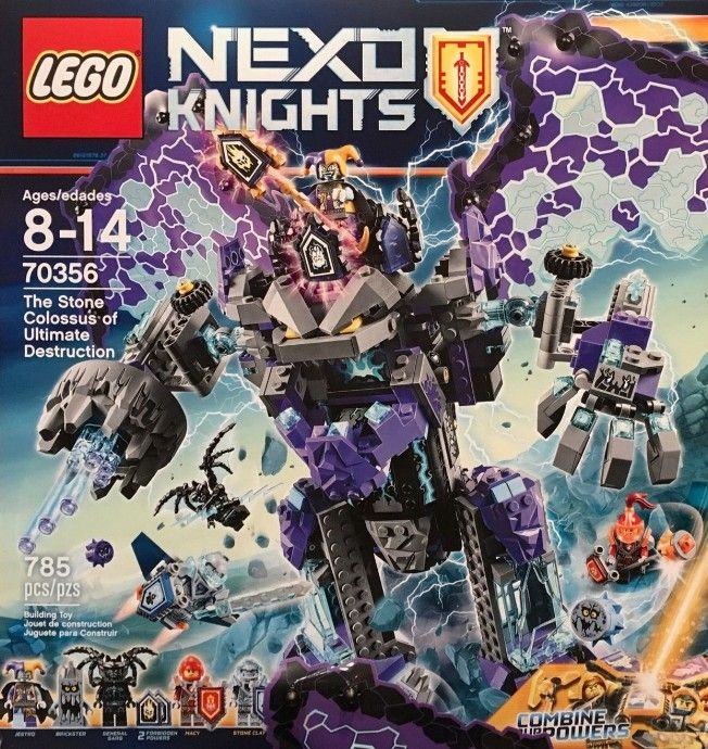 Nouveau LEGO Nexo Knights 70356 The Stone Colossus of Ultimate Destruction 2017