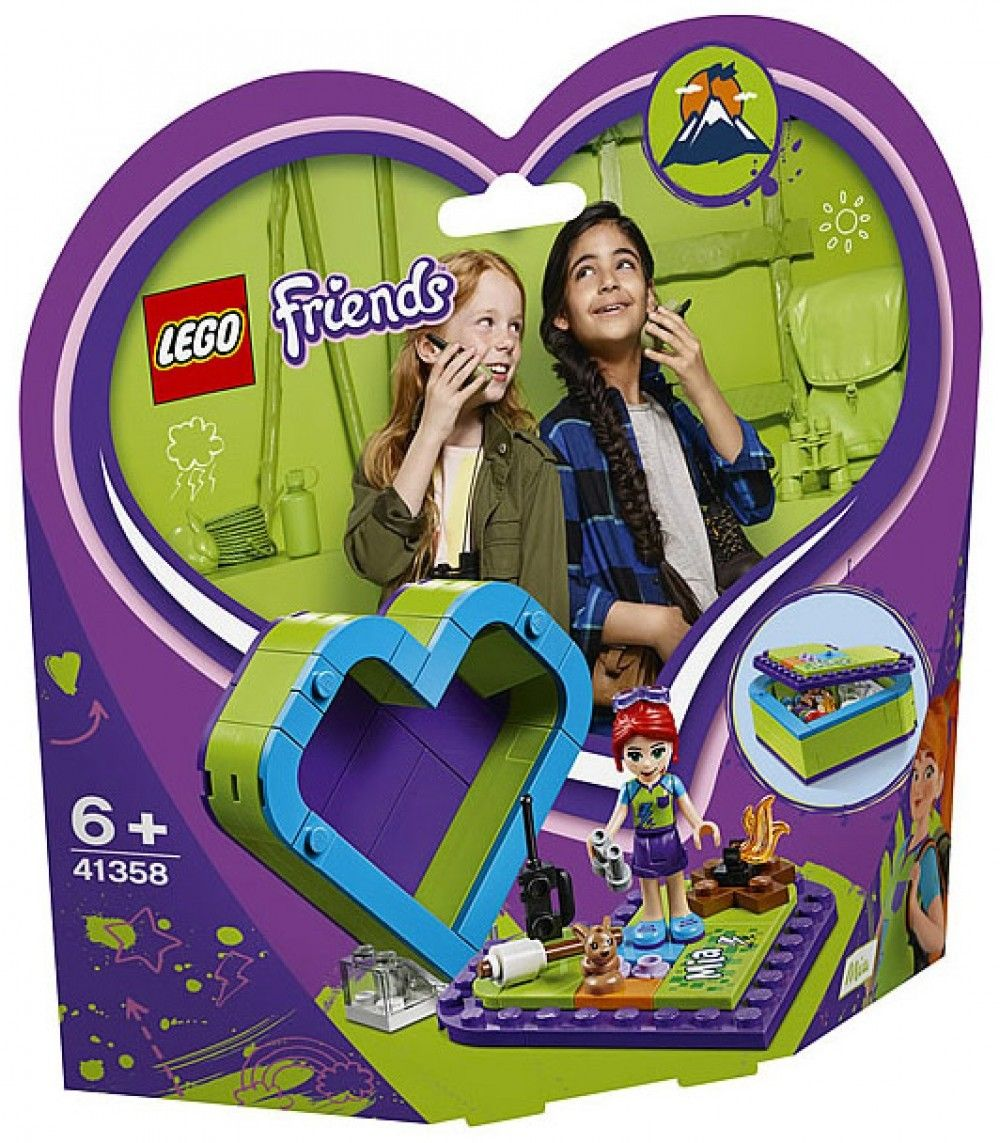 Nouveau LEGO Friends 41358 Mia's Heart Box 2019