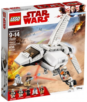 Nouveau LEGO Star Wars 75221 Imperial Landing Craft 2018