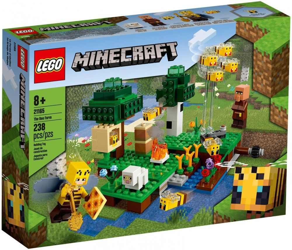 Nouveau LEGO Minecraft 21165 The Bee Farm // Janvier 2021